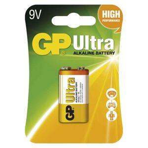 Emos Alkalická baterie GP Ultra 9V (6LF22) B1951