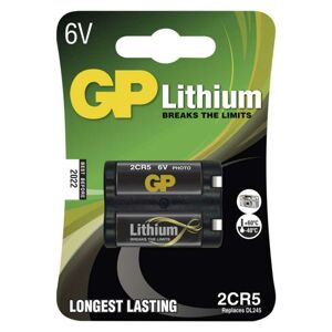 GP Batteries Lithiová baterie GP 2CR5 B1505