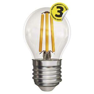 Emos LED žárovka Filament Mini Globe 4W E27 teplá bílá Z74240