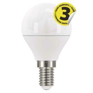 Emos LED žárovka Classic Mini Globe 6W E14 studená bílá ZQ1222