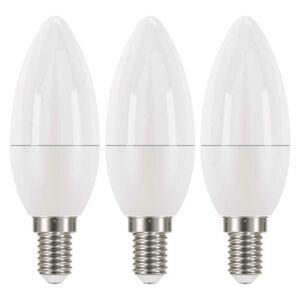 Emos LED žárovka Classic Candle 6W E14 teplá bílá ZQ3220.3