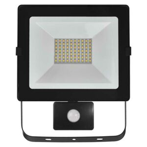 Emos LED reflektor HOBBY SLIM s pohyb. čidlem, 50W neutrální bílá ZS2341