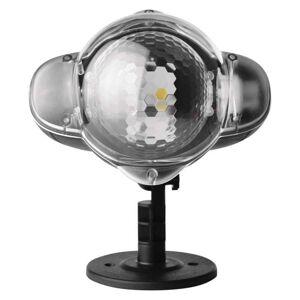 Emos LED dekorativní projektor – padající vločky, venkovní ZY2192
