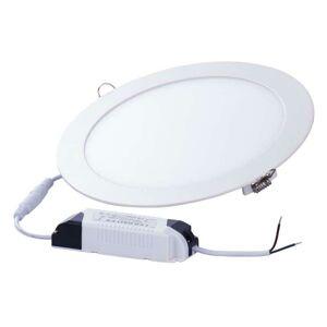 Emos LED panel 220mm, kruhový vestavný bílý, 18W teplá bílá ZD1141 ZD1141