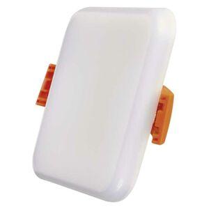 Emos LED panel 6W, 75×75, vestavný čtvercový, teplá bílá, IP65 ZV2111 ZV2111