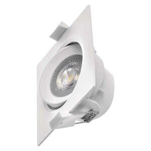 Emos LED bodové svítidlo bílé, čtverec 7W teplá bílá ZD3570 ZD3570