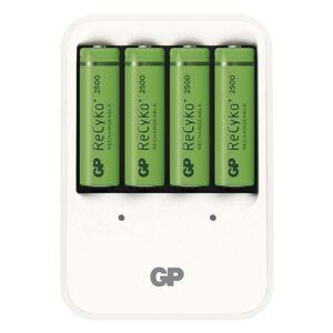 GP Batteries Nabíječka baterií GP PB420 + 4× AA GP ReCyko+ 2500 B0042