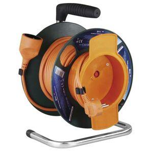 Emos PVC prodlužovací kabel na bubnu – spojka, 25m, 1,5mm2 P19125