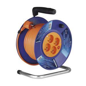 Emos PVC prodlužovací kabel na bubnu – 4 zásuvky, 50m, 1,5mm2 P19450