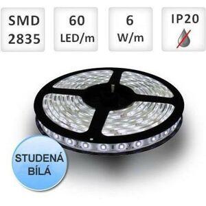 PREMIUMLUX LED pásek 60ks 2835 6W/m Studená bílá, cena za 1m