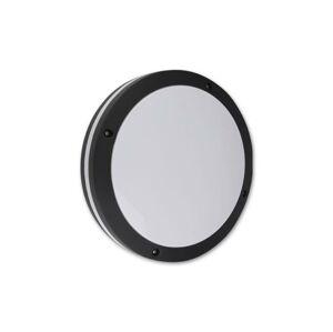 LED21 Přisazené venkovní svítidlo PAULA kruh 2xE27, černé V3269