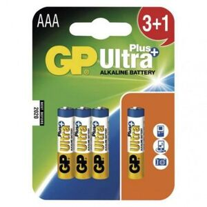 GP Batteries Alkalická baterie GP Ultra Plus AAA (LR03) B1711N