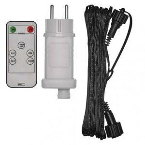 Emos Napájecí zdroj s DO s černým prodlužovacím kabelem 10m ZY2300RC