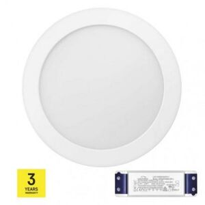 Emos LED panel TRIAK 224mm, kruhový přisazený bílý, 18W neut. b. ZM5142T