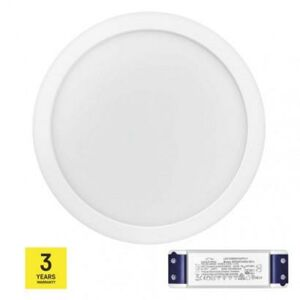 Emos LED panel TRIAK 300mm, kruhový přisazený bílý, 24W neut. b. ZM5152T ZM5152T