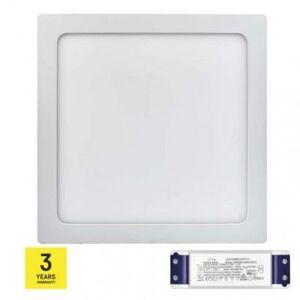 Emos LED panel TRIAK 300×300, čtvercový přisazený bílý, 24W n. b. ZM6152T ZM6152T