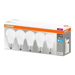 Sada LED žárovka LED E27 8,5W = 60W 806lm 4000K OSRAM BASE BOX5 OSRLEDW2045