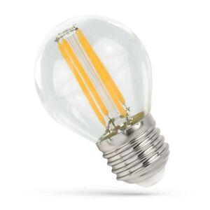 SPECTRUM LED žárovka 4W 4xCOG Filament E27 500lm CCD TEPLÁ BÍLÁ