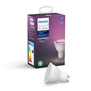 Philips HUE White and Color Ambiance LED žárovka LED GU10 5,7W Bluetooth Zigbee 8718699628659 PHIHUEB0105