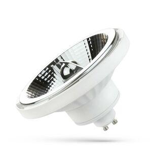 LED AR111 GU10 230V 15W SMD 45ST Studená bílá Bílá SPECTRUM