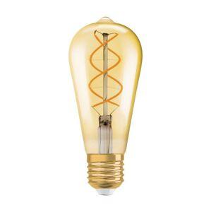 LED žárovka LED E27 ST64 5W = 25W 250lm 2500K SPIRALA OSRAM VINTAGE 1906 OSRVIN0032