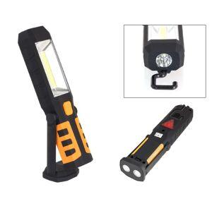 LED21 AG121D LED svítilna plastová pracovní, 3W COB LED + 1x LED, nabíjecí