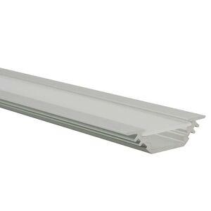 Kanlux 19164 PROFILO E lišty k LED páskům,10 ks po 1m v balení, bez difuzoru