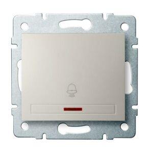 Kanlux 24780 DOMO Zvonkové tlačítko s LED - krémová