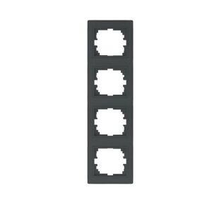 Kanlux 24946 DOMO Čtyřnásobný vertikální rámeček - grafit