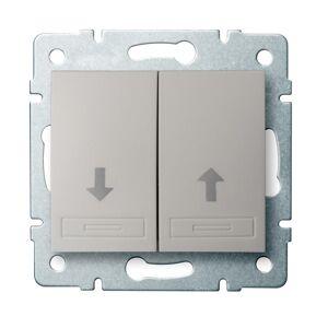 Kanlux 24980 DOMO Žaluziové tlačítko - perleťově bílá
