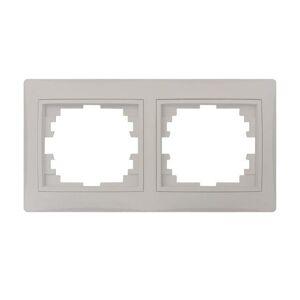 Kanlux 24999 DOMO Dvojnásobný horizontální rámeček - perleťově bílá