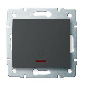 Kanlux 25249 LOGI Zvonkové tlačítko - grafit