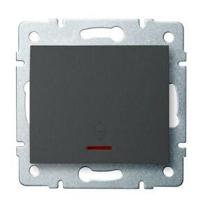 Kanlux 25253 LOGI Zvonkové tlačítko s LED - grafit