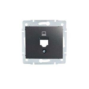 Kanlux 25923 DOMO Adaptér datové zásuvky 1xRJ45 - grafit
