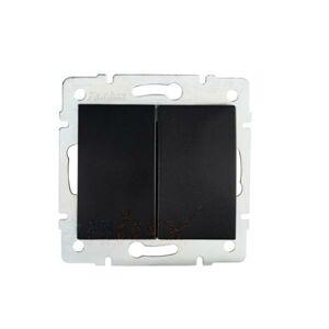 Kanlux 33627 LOGI Žaluziové tlačítko - černá matná