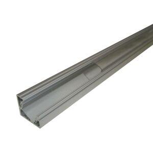 PREMIUMLUX Hliníkový profil MiniLUX 30/60° 2m pro LED pásky, hliník