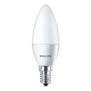 LED žárovka LED svíčka E14 5,5W = 40W 520lm PHILIPS 4000K PHILED00121D