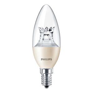 LED žárovka MASTER LEDcandle B40 E14 8W 806lm PHILIPS CL stmívatelná PHILED00123C