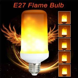 LED21 LED žárovka 3-5W SMD2835 450lm E27 ULTRA Teplá bílá, FLAME - imitace plamene