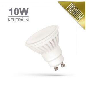 SPECTRUM LED žárovka PREMIUM 10W 18xSMD2835 GU10 910lm NEUTRÁLNÍ BÍLÁ