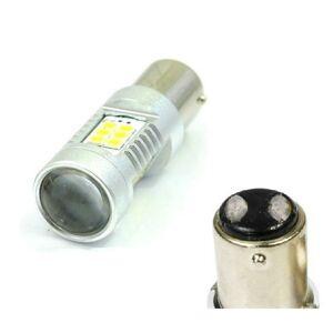 LED21 LED auto žárovka 12V BAy15D 21SMD2835 6W, Dvouvláknová