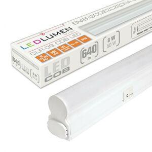 Ledlumen Lineární LED svítidlo CLP-09 60cm 8W batten NEUTRÁLNÍ BÍLÁ LU0247