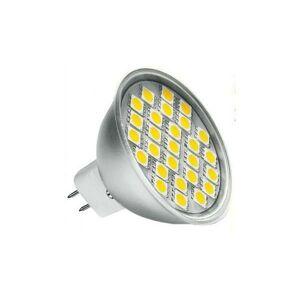 PREMIUMLUX LED žárovka 4,2W 27xSMD 12V GU5.3/MR16 400lm Teplá bílá