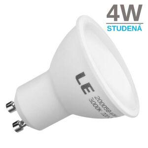 LED21 LED žárovka 4W SMD2835 GU10 300lm STUDENÁ BÍLÁ