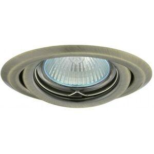 PREMIUMLUX Podhledové bodové svítidlo BETA mosaz + patice, LUX01220