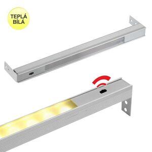 LED21 LED svítidlo POLARUS s čidlem pro zásuvky, TEPLÁ BÍLÁ 564mm POLP-564-BC-01W POLP-BC