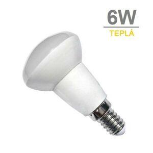 LED21 LED žárovka 6W E14 480lm R50 TEPLÁ BÍLÁ