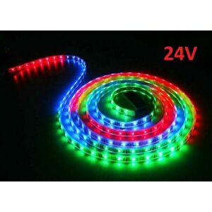 PREMIUMLUX LED pásek 24V 1m RGB 30LED/m 5050 7.2W/m
