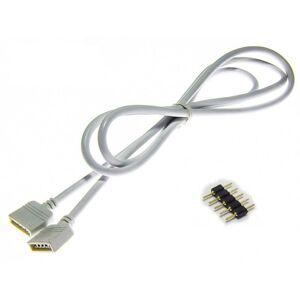 LED21 Spojka 5PIN prodlužovací 1m pro RGBW LED pásky 10mm