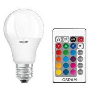 LED žárovka LED A60 E27 9W = 60W 806lm OSRAM RGBW + Ovladač OSRLED4120